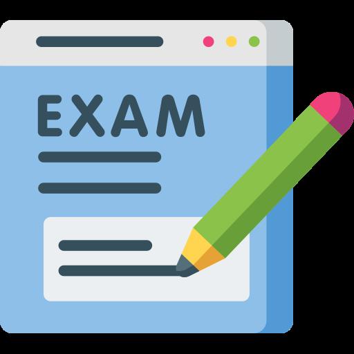 Exam  free icon