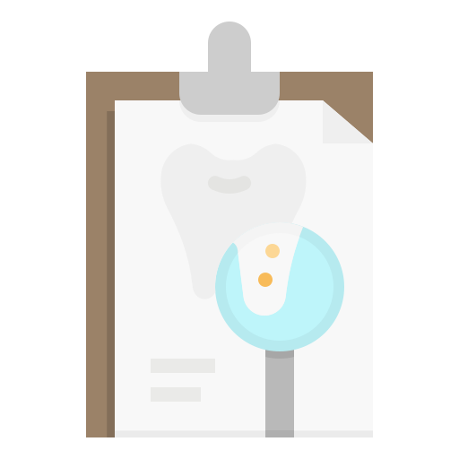 Стоматологическая карта  бесплатно иконка