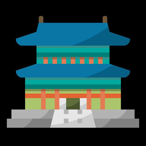 Gyeongbokgung palace  free icon