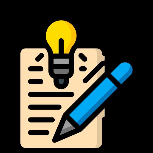 Creative writing  free icon