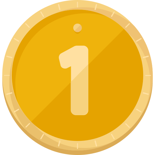 Золотая медаль  бесплатно иконка