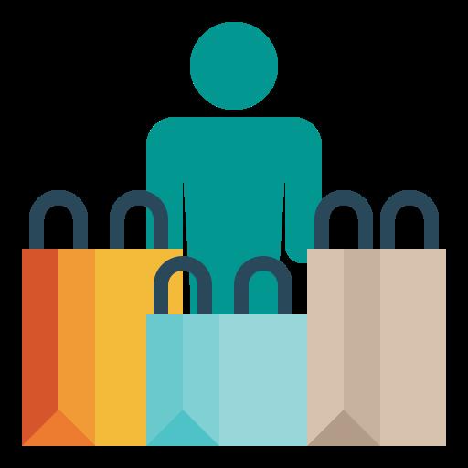 Consumer  free icon