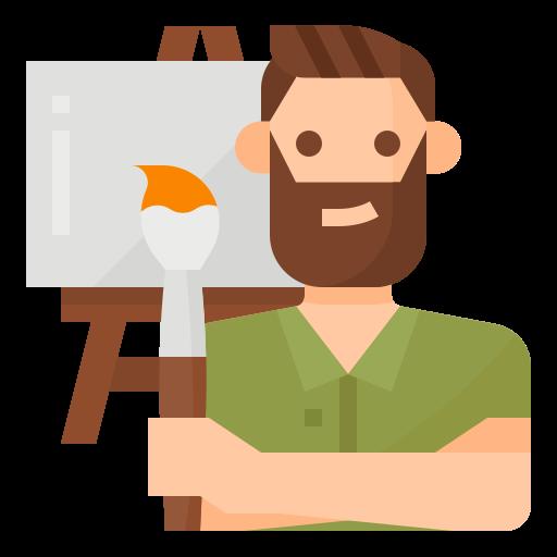 Painter  free icon