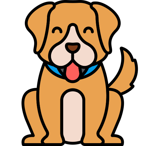 Perro  icono gratis