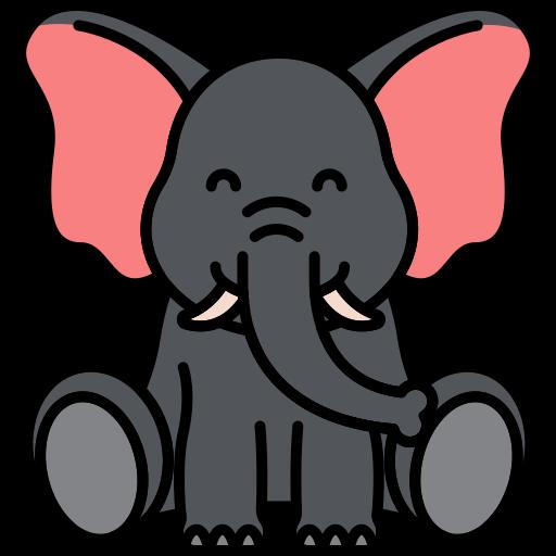 Elefante  icono gratis