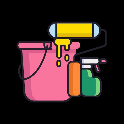 Serviço de limpeza  grátis ícone