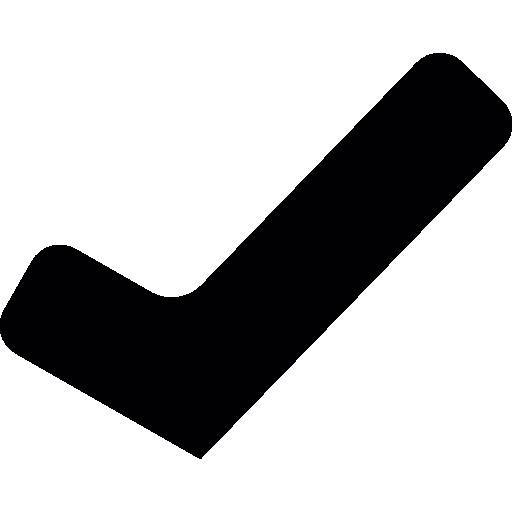 Correct mark  free icon