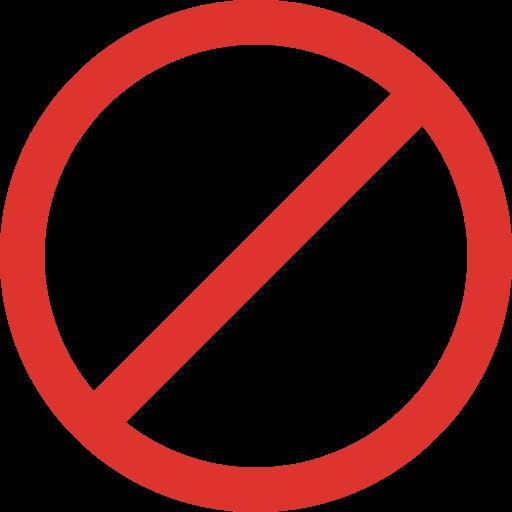 Forbidden  free icon