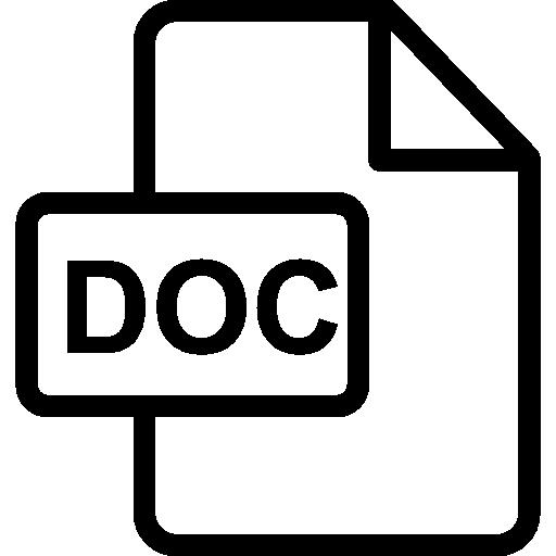 doc  Icône gratuit