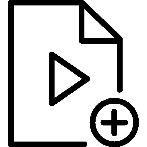 Video file  free icon