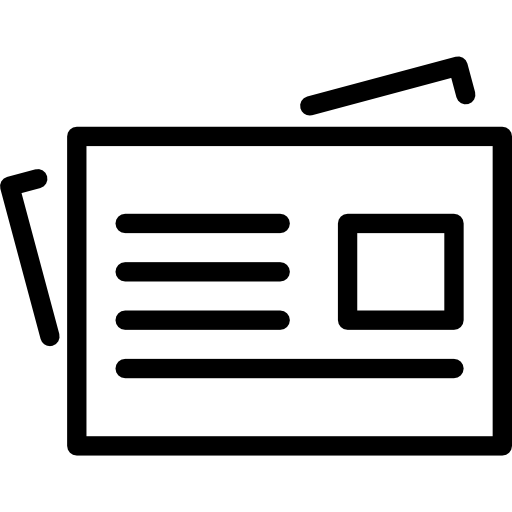 Newspaper  free icon