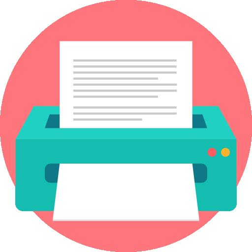 imprimante  Icône gratuit