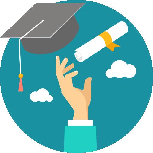 Graduation  free icon