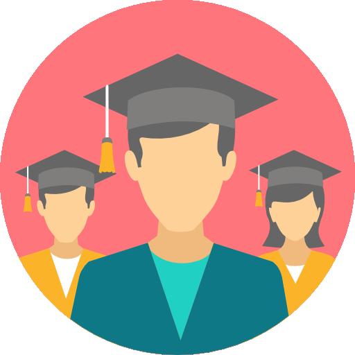Graduates  free icon