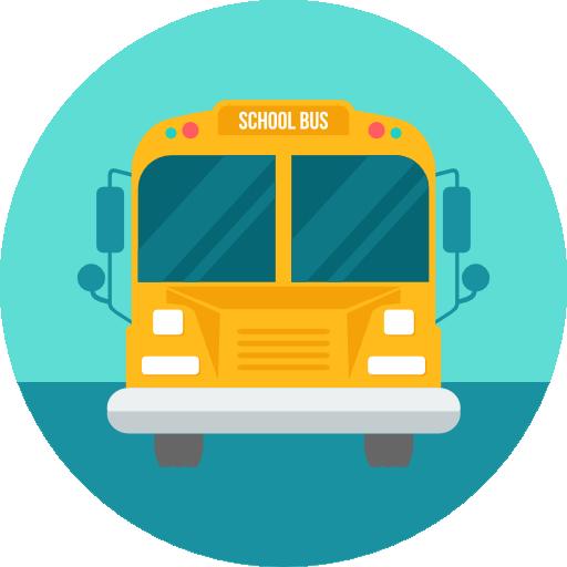 School bus  free icon