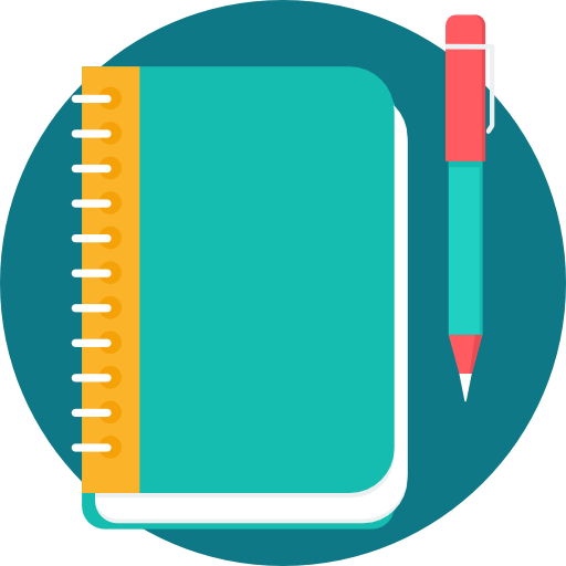 Notebook  free icon