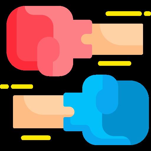 Боксерская перчатка  бесплатно иконка