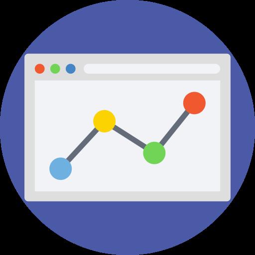 Charts  free icon