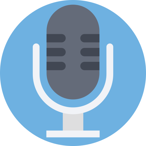 Microphone  free icon