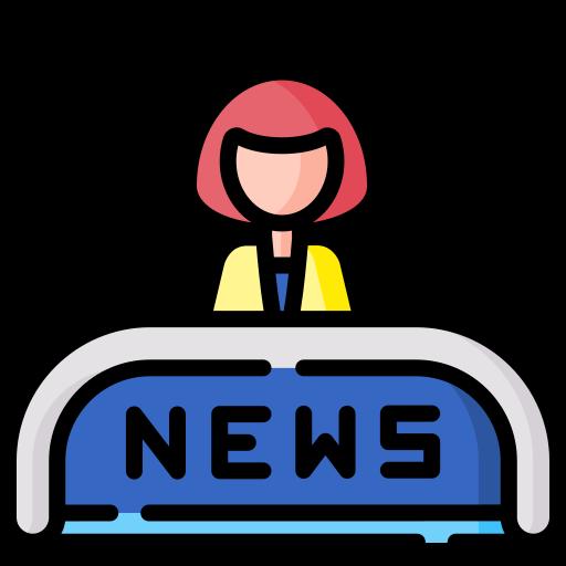 Noticias del mundo  icono gratis
