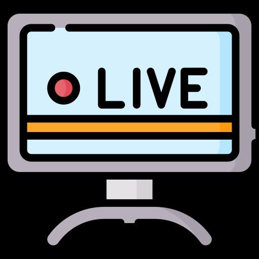 Transmissão  grátis ícone