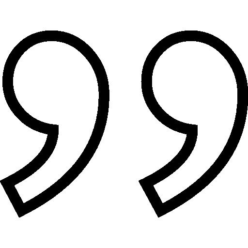 citation  Icône gratuit