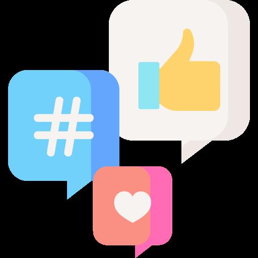 Social media  free icon