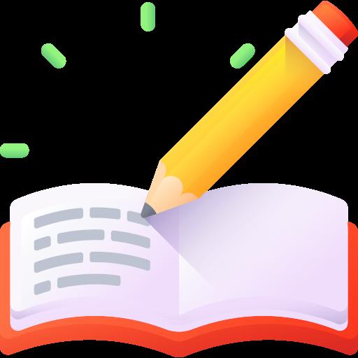 Homework  free icon