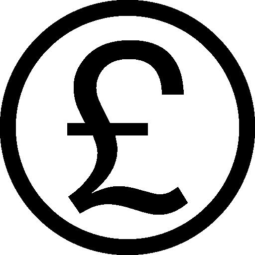 britische pfund-münze  kostenlos Icon