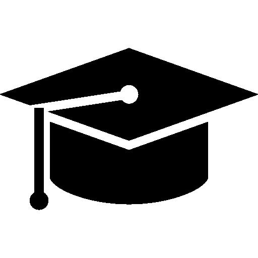 sombrero de graduacion  icono gratis