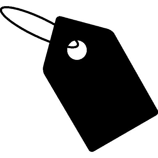 Size Tag  free icon