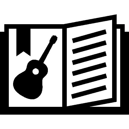 Музыкальная книга  бесплатно иконка