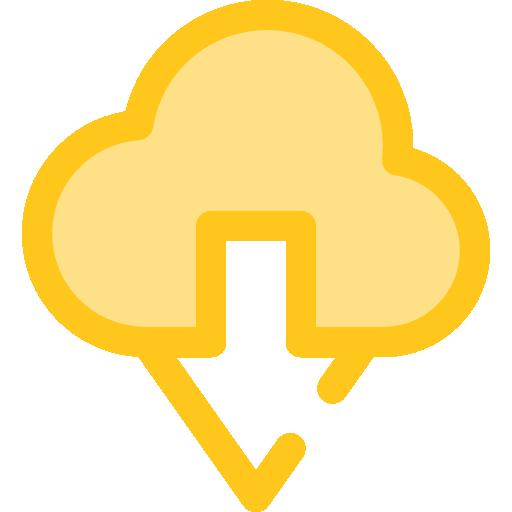 클라우드 컴퓨팅  무료 아이콘
