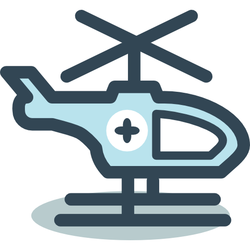 Helicopter  free icon