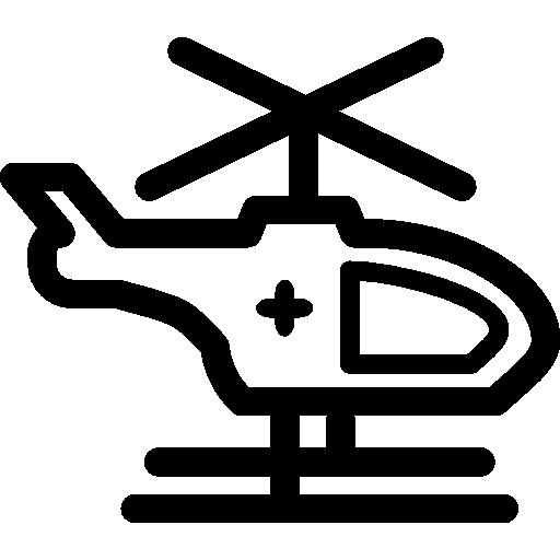 hélicoptère  Icône gratuit