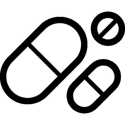 pilules  Icône gratuit