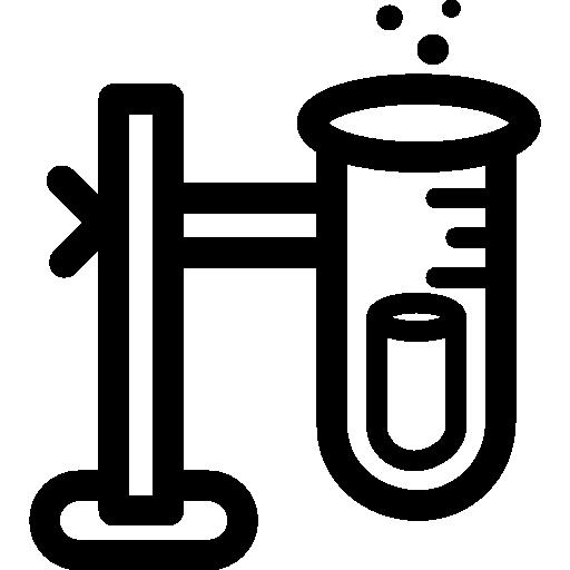 tube à essai  Icône gratuit