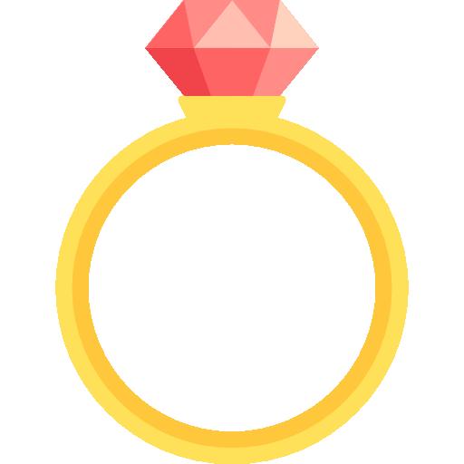 다이아몬드 반지  무료 아이콘