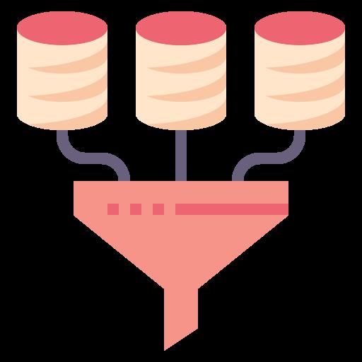 exploration de données  Icône gratuit