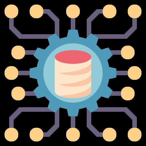 science des données  Icône gratuit
