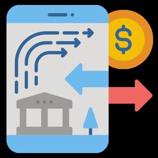 Online banking  free icon