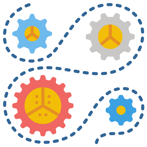Gears  free icon