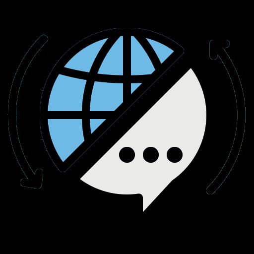 Translating  free icon