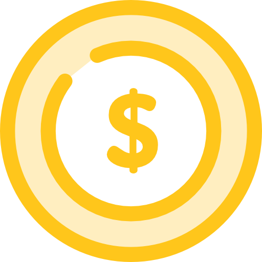 동전  무료 아이콘