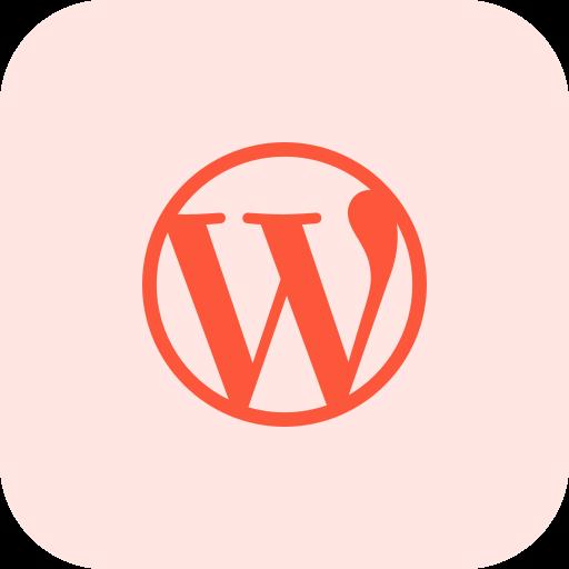 wordpress  kostenlos Icon