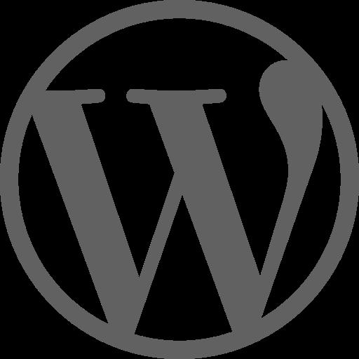 Wordpress  free icon