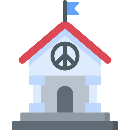 World peace  free icon