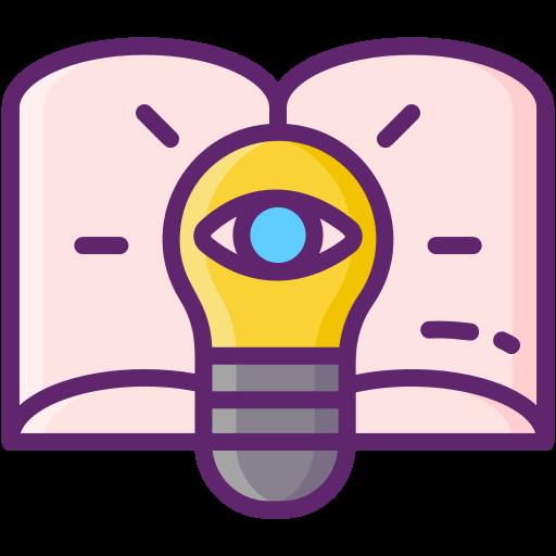 Visión educativa  icono gratis