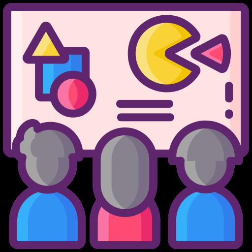 그룹 수업  무료 아이콘
