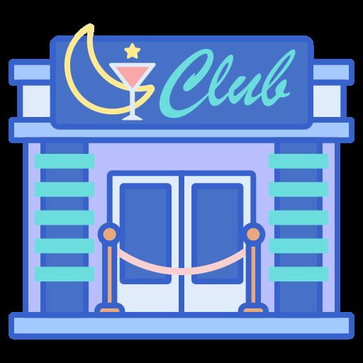 Night club  free icon